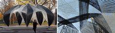 Robotically fabricated carbon and glass fibre 01