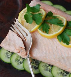 Cold Poached #Salmon #recipe