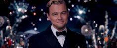 """In detail and dialogue """"The Great Gatsby"""" largely adheres faithfully to F. Scott Fitzgerald's novel, but Baz Luhrmann has colored it lavishly with his feel for the era. Leonardo Dicaprio Movies, Teaching Literature, Making A Movie, The Revenant, The Great Gatsby, Scott Fitzgerald, Movie List, Best Actor, Lady Gaga"""