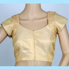 Gold Tissue Blouse