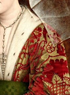 Portrait of Isabella of Portugal, Detail. Workshop of Rogier van der Weyden (ca. 1400 - 1464) Dated: c.1500