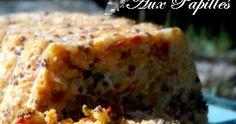Depuis que j'ai découvert la terrine courgette/quinoa , j'en fais très souvent pour mes repas au travail. Avec une tranche de poulet grillé...