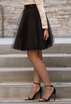 Really dying for tulle skirts this season Love Fashion, Fashion Beauty, Holiday Outfits, Dress Me Up, Dress To Impress, Cute Outfits, Style Inspiration, Stylish, My Style