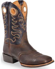 Justin Original Work Boots 174 Stampede Men S Black Oiled