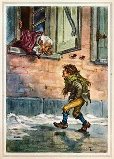Scrooge A Christmas Carol, Christmas Carol Charles Dickens, A Christmas Story, Christmas Art, Christmas Illustration, Illustration Art, Book Illustrations, Ebenezer Scrooge, Art Themes