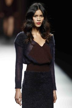 gorgeous knit! Sita Murt Fall/Winter 2013-2014 - Madrid Model: Juana Burga