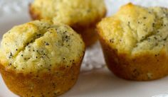 "CLICK PIC  2x for Recipe....  ..""Low Carb"" Lemon Poppy Muffins.. ...Recipe by George Stella... ...For tons more Low Carb recipes visit us at ""Low Carbing Among Friends"" on Facebook"