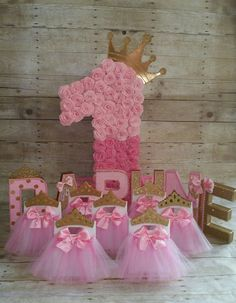 Super Ideas For Baby First Birthday Party Ideas Girl Daughters Baby Girl 1st Birthday, Ballerina Birthday, Princess Birthday, First Birthday Decorations, First Birthday Parties, First Birthdays, Birthday Ideas, Princess Party Activities, Princess Party Favors