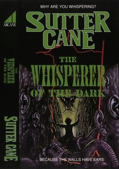 Sutter Cane book covers (In the Mouth of Madness)