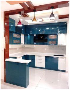 Kitchen Ceiling Design, Ceiling Design Living Room, Room Door Design, Kitchen Room Design, Home Room Design, Modern Kitchen Design, Kitchen Layout, Home Decor Kitchen, Interior Design Kitchen