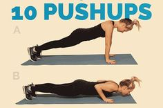 9 Quick Total-Body Workouts, No Equipment Needed Abs Workout Video, Gym Video, Workout Ideas, Workout Plan For Men, Workout Plan For Beginners, At Home Workouts, Body Workouts, Simple Workouts, Circuit Workouts
