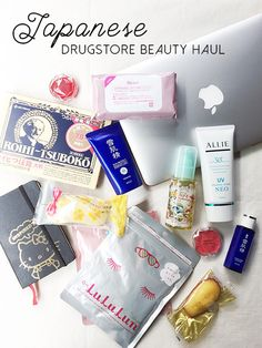 Shelby does Japanese Drugstore Beauty Haul, Tokyo Japan Tokyo Places To Go / Things To Buy