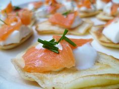Blinis (the easy way).
