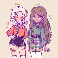 Anime Drawings Sketches, Cool Art Drawings, Cartoon Drawings, Cartoon Girl Drawing, Cute Art Styles, Cartoon Art Styles, Arte Do Kawaii, Kawaii Art, Drawing Anime Clothes