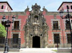 Portada del Hospicio de San Fernando, Pedro de Ribera. Madrid. 1721-1729