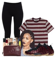"""""""Untitled #864"""" by shegr00vy ❤ liked on Polyvore featuring Helmut Lang, Brixton and NIKE"""