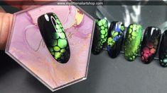 Nail Art Designs Videos, Nail Design Video, Nail Art Videos, Gel Nail Designs, Rose Nail Art, Gel Nail Art, Nail Art Diy, Diy Nails, Cat Eye Nails Polish