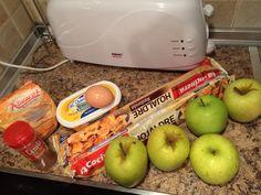 Ingredientes para apple pie
