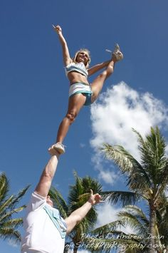 What My cheerleading career COULD have been