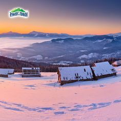 Zima w górach / Winter mountains