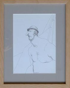 Sin título, 2004. Dibujo sobre papel. 21 x 15 cm.