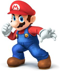 Mario---Super Smash Bros. for 3DS and Wii U Art & Pictures