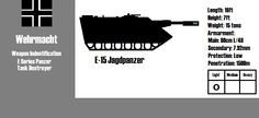 ID card for wargame