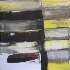 Painting - Philippe Vandeputte -Oil - Abstract - Peinture - Philippe Vandeputte - Huile - Abstrait - gerhard richter, Jules Olitski, Olivier Debré -