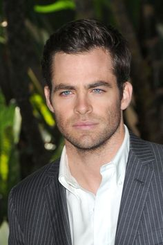 Chris Pine.. The reason I can't wait for the next Star Trek movie! The HOT Captain Kirk!