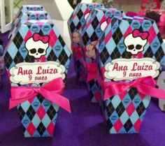 DIY Monster High Coffin Boxes.
