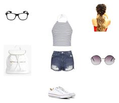 """WDW look #1"" by missyt123 ❤ liked on Polyvore featuring Ally Fashion, Topshop, Boohoo, Monki and Converse"