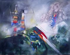 "Roberto Matta's ""Untitled."""