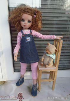 Ульяна-новая девочка из молда Лилу / Авторские куклы своими руками, ООАК / Бэйбики. Куклы фото. Одежда для кукол