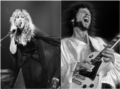Lindsey Buckingham and Stevie Nicks - Fleetwood Mac.