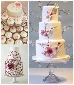fascinating wedding cakes, super!