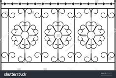 Wrought Iron Gate, Fence, Window, Grill, Railing design