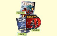 Please fill out the form below to receive Free copies of our Welding Careers Magazine and DVD. Note: Be sure