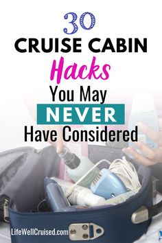 These 30 unique cruise cabin hacks will help you to organize your stateroom and more! If you are cruising for the first time, or are a cruise veteran, these cruise tips are sure to be helpful. If you love travel hacks, this is a must-read! Carnival Sensation Cruise, Carnival Cruise Tips, Carnival Cruise Bahamas, Cozumel Mexico Cruise, Bahamas Cruise, Alaska Cruise Tips, Packing List For Cruise, Cruise Checklist, Alaska Trip