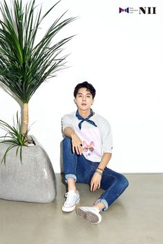WINNER Mino - NII Summer 2016 Collection