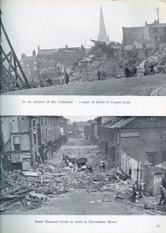 Sheffield Blitz - Story And Pictures - SHEFFIELD DURING THE WAR - Sheffield History - Sheffield Memories