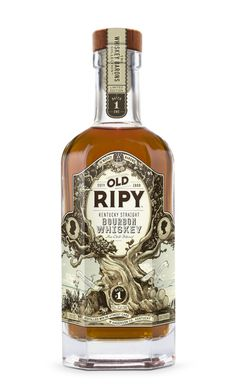 Old Ripy is a combination of Kentucky Straight Bourbon with and younger whiskies for added complexity and oak. It is distilled at the Wild Turkey Distillery in Anderson County, (Liquor Bottle Bourbon Whiskey) Cigars And Whiskey, Scotch Whiskey, Bourbon Whiskey, Whiskey Bottle, Whiskey Trail, Rum Bottle, Irish Whiskey, The Distillers, Best Bourbons