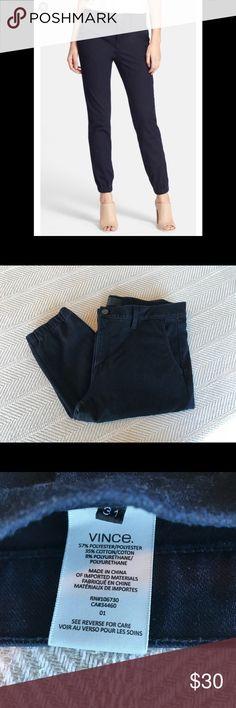 Vince Denim Jogger Pants-New! Size 31 Vince Dark Denim jogger pants bought at Nordstrom. Vince Jeans