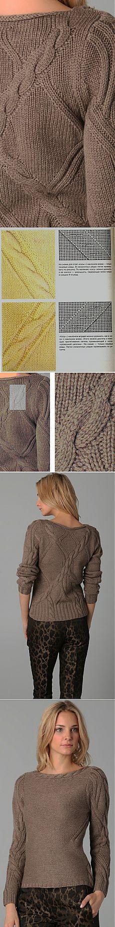 свитер от дизайнера Elie Tahari.