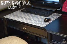 DIY Desk Pad under $7 - Addicted 2 Savings 4 U