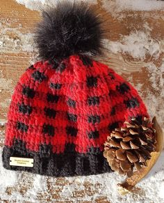 44d2369f1d6 Buffalo Plaid Hat by