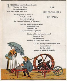 French Poem-Vintage School Book-Available As Art Prints-Mugs,Cases,Duvets,T Shirts,Stickers,etc