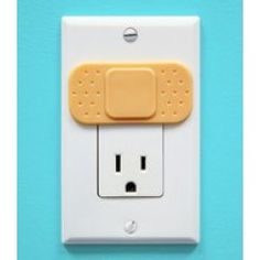 Ouchlets: Set of 4 Outlet Covers by 'waste your cash'