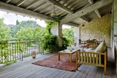 I would love a covered deck!