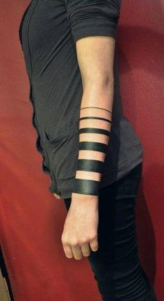 stripe tattoo - Google Search