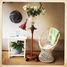 ANOUK offers an eclectic mix of vintage/retro furniture & décor.  Visit us: Instagram: @AnoukFurniture  Facebook: AnoukFurnitureDecor   July 2016, Cape Town, SA. Retro Furniture, Furniture Decor, Cape Town, Retro Vintage, Photo And Video, Boho, Facebook, Chair, Instagram